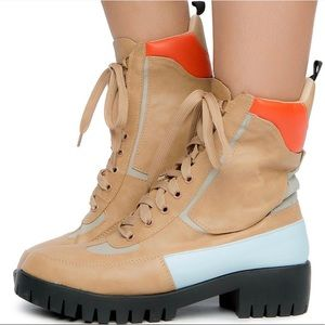 Chase & Chloe | Combat Boots Sz 6